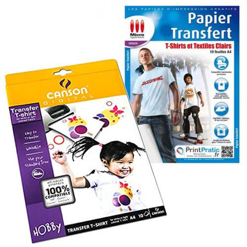 papier transfert t shirt tunisie